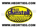 Paul Dunstall Suzuki Tank and Fairing Transfer Decal DDUN6-8